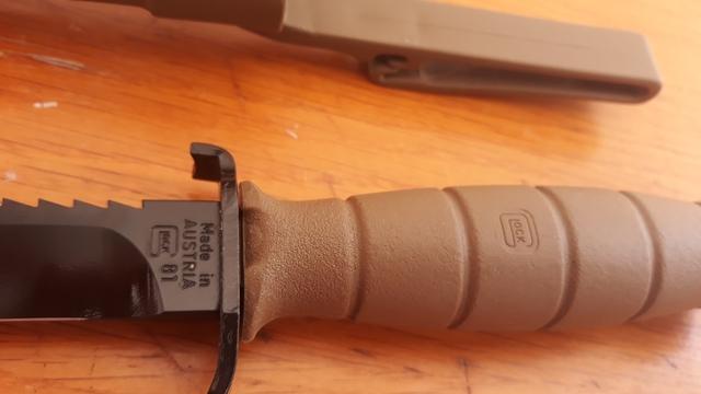 Cuchillo De Combate Glock 81