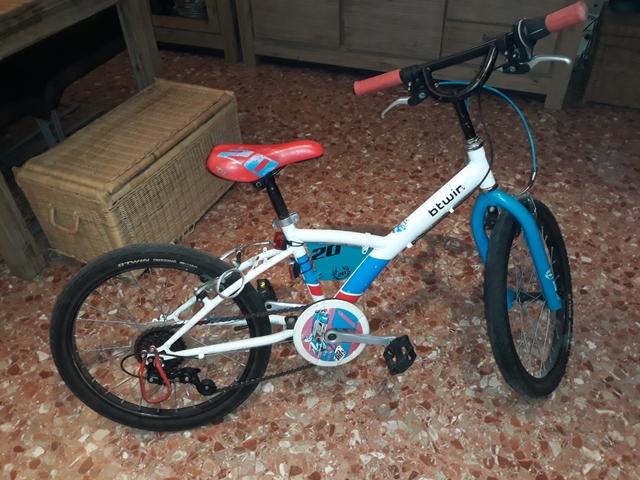 Bici Niño Rueda 20