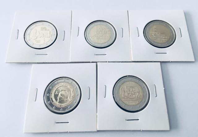Monedas Conmemorativas Europeas 2