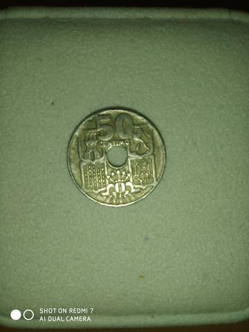 Moneda 50 Centimos 1949