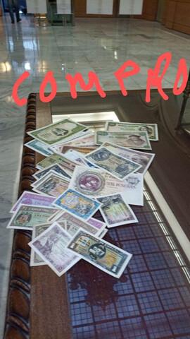 Billetes Y Monedas Antiguas. Compra