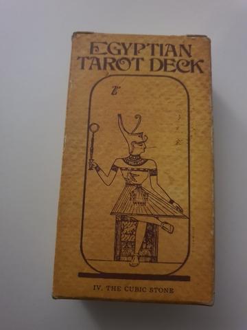Tarot Egiptian Deck Por Fournier