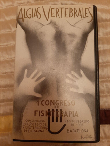 Video Vhs. 1.º Congreso De Fisioterapia