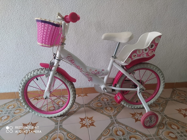 Bicicleta De Hello Kitty Y Reno De Mader