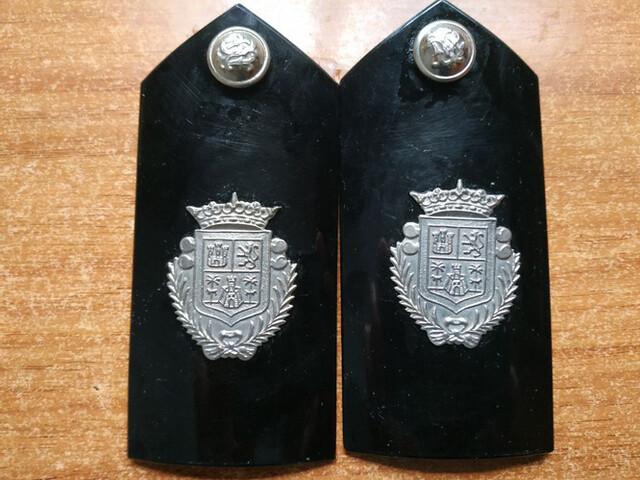 Hombreras ,Manguitos Policía Local