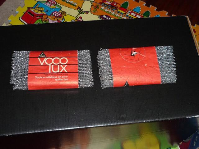 2 Antiguos Estropajo Voco  Lux Sin Uso