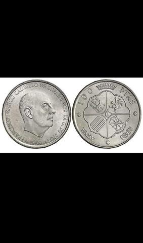 Compro Monedas De 100 Pesetas De Franco