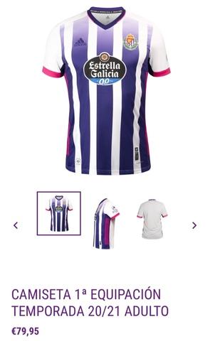 Camiseta Real Valladolid - Adidas