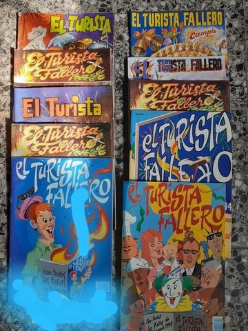 Revistas Falleras Antiguas