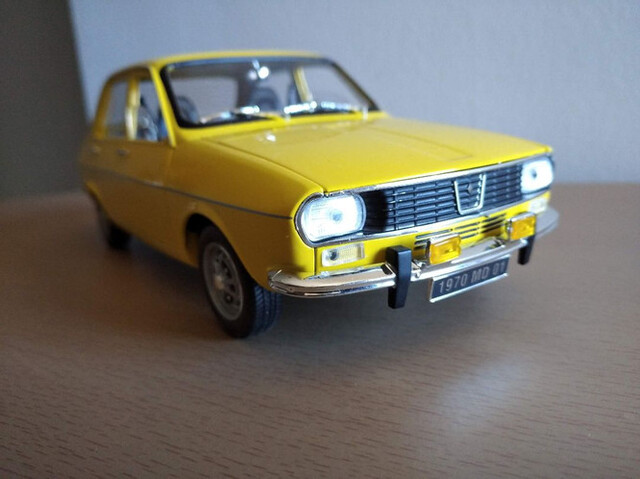 Renault 12 Años 70, Esc. 1/18
