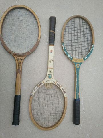 Raquetas De Tenis De Madera Antiguas