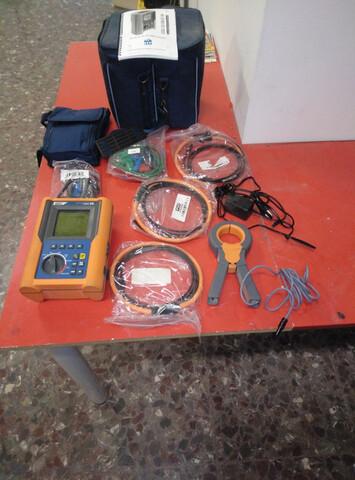 Analizador Redes Eléctricas Rbte