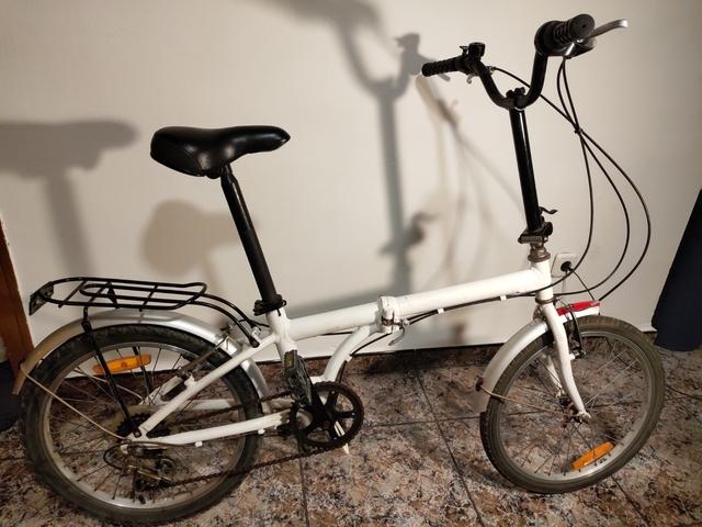 "Bicicleta Plegable 20\"" Aluminio"