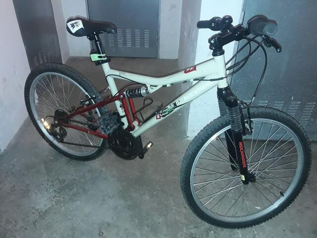 """Bici 24"""" Doble Suspension"""