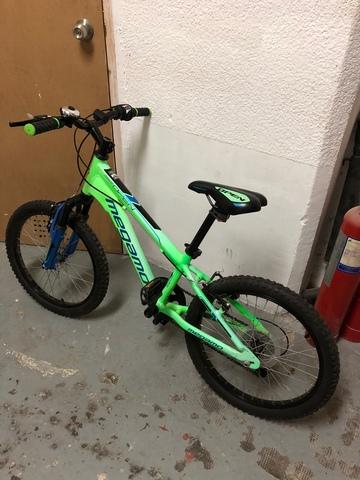 Bicicleta Seminueva De 18 Pulgadas