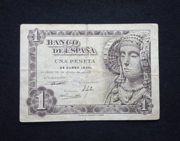 1948- Billete De 1 Peseta