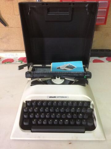 Coleccionismo Maquina Escribir Olivetti,