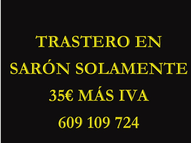 TRASTERO EN SARON SOLAMENTE 29 +IVA - foto 1
