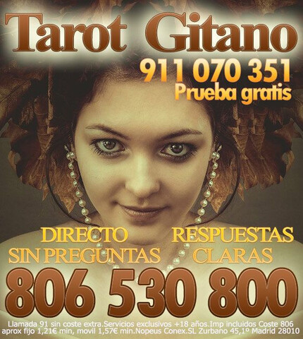 EXPERTOS EN TAROT GITANO - foto 1
