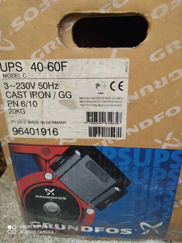 Bomba Grundfos Ups 40-60 3X230V