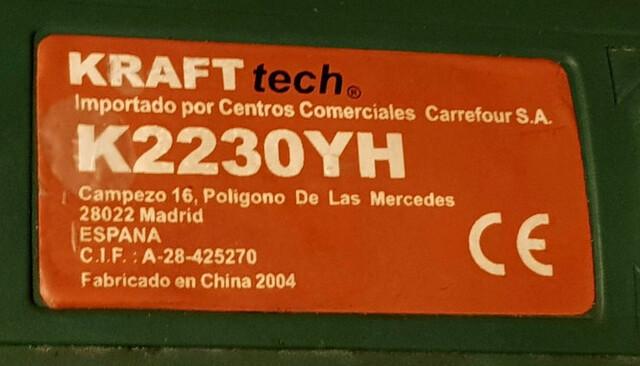 Amoladora Angular Kraft Tech