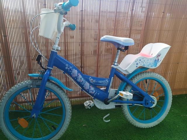 Bicicleta Frozen De 16 Pulgadas