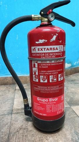 Extintor 6 Kg Abc Polvo 15E