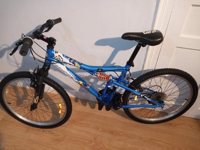 Bicicleta De 24 Pulgadas Full Suspensión