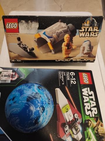 Lote De Legos Starwars Y Linterna Soldad