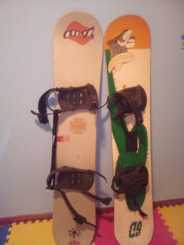 Dos Tablas De Snowboard