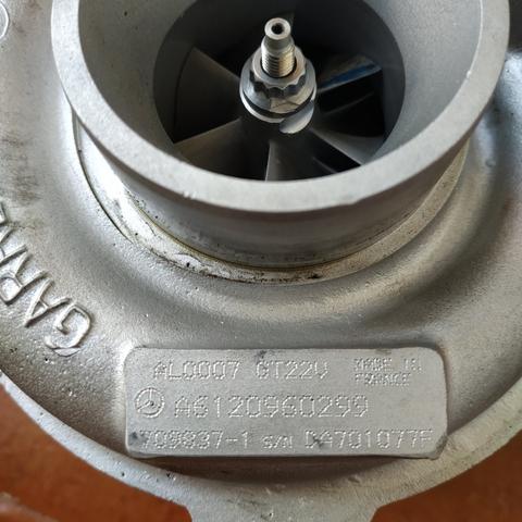 TURBO MERCEDES E 270CDI REF.  A6120960299 - foto 1