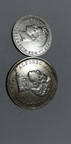 Monedas Españolas De Plata