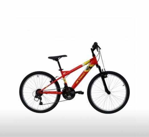 Bicicleta De Montaña Mtb 24 Suspensión D