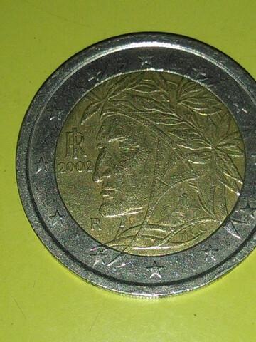 Moneda 2 Euros Indio Italia