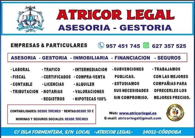 ATRICOR LEGAL - ASESORIA/GESTORIA - foto 3