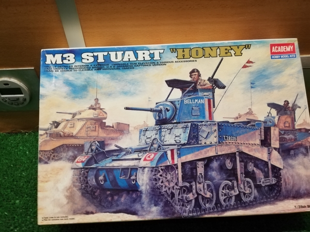 TANQUE M3 STUART HONEY - foto 1