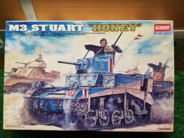 TANQUE M3 STUART HONEY - foto 2