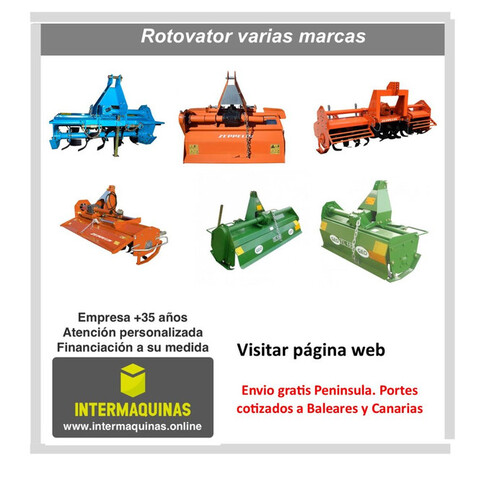 ROTOVATOR COMPLEMENTO TRACTOR - foto 1