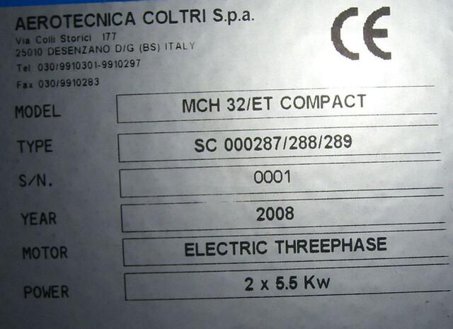 COMPRESOR COLTRI MCH 32 - foto 4
