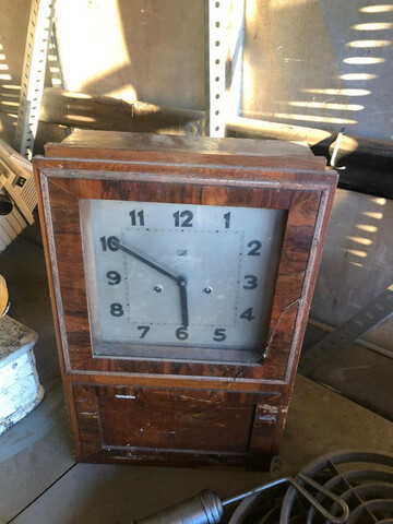 Reloj De Pared De Pendulo Antiguo