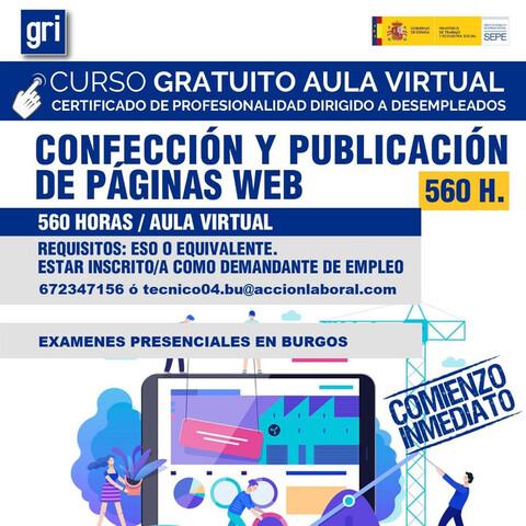CONFECCION Y PUBLICACIÓN DE PÁGINAS WEB - foto 1