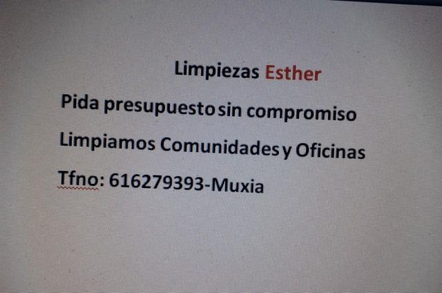 LIMPIEZAS ESTHER - foto 1