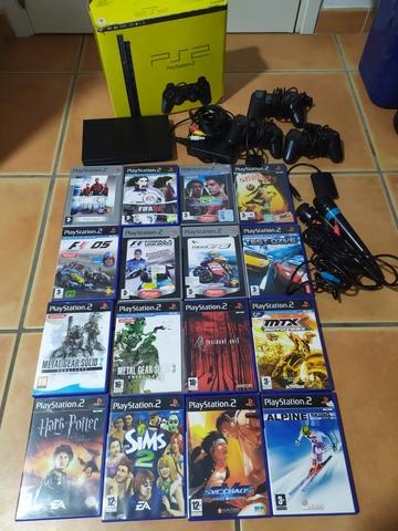 PLAYSTATION 2 SLIM\NCON ACCESORIOS - foto 1