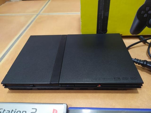 PLAYSTATION 2 SLIM\NCON ACCESORIOS - foto 2