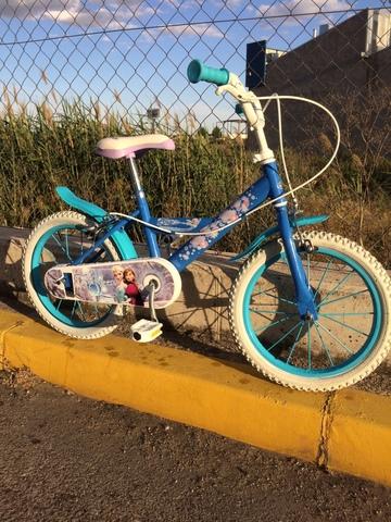 Bicicleta Niña De 16 Pulgadas Frozen