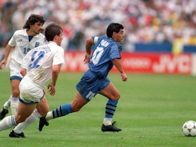 CAMISETA MARADONA ARGENTINA 1994 ADIDAS - foto 8