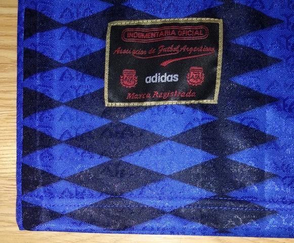 CAMISETA MARADONA ARGENTINA 1994 ADIDAS - foto 6