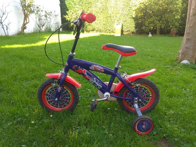 Bici De Spiderman Talla Rueda 12