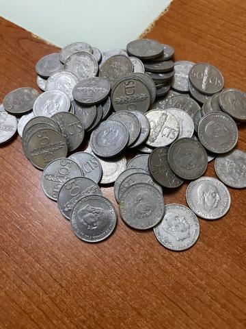 455 Monedas De Franco