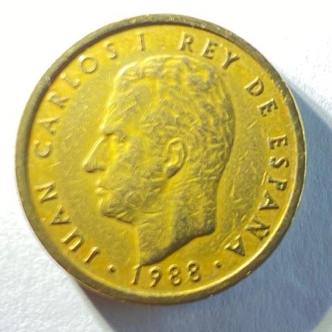 Moneda De 100 Pesetas Del Año 1988